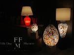 lampade da tavolo in vetro di murano