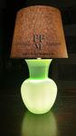 lampada da tavolo vaso incamiciato
