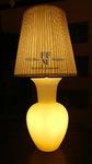 lampada da tavolo con paralume 1
