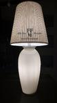 lampada da tavolo vaso incamiciato moderno