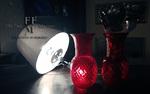 lampada da tavolo vaso in vetro