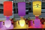 lampada da tavolo colorata