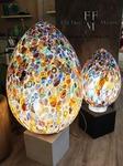 lampada da tavolo uovo murrine