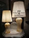 lampade da tavolo in vetro di murano classiche