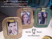 murano glass photo frames