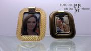 cornici portafoto in vetro di MURANO